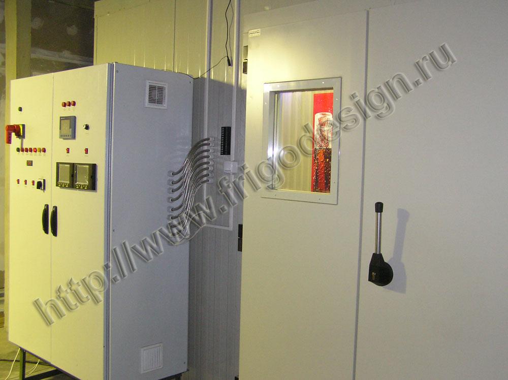 Климатическая испытательная камера производства Фригодизайн