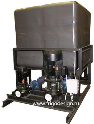 Промышленный насосный агрегат Фригодизайн