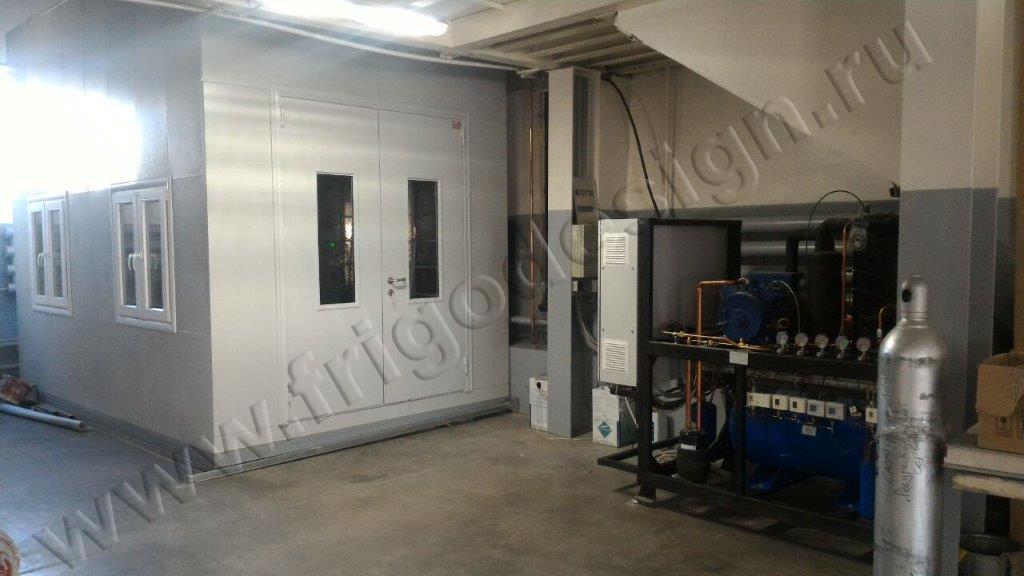 Климатическая камера для проведения испытаний стальных дверей