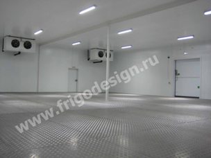Изготовление промышленных холодильных камер