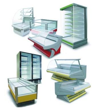 Торговые холодильные витрины и прилавки