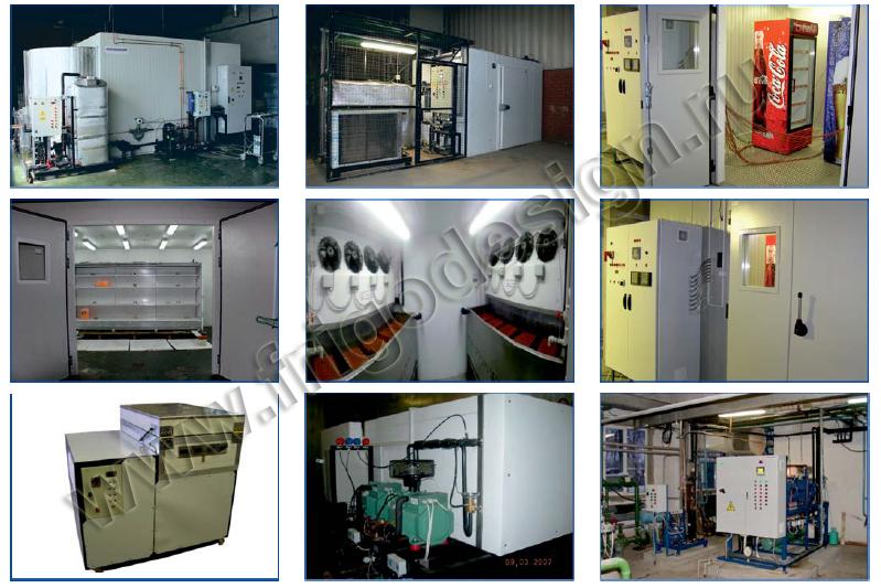 Различные климатические камеры производства Фригодизайн