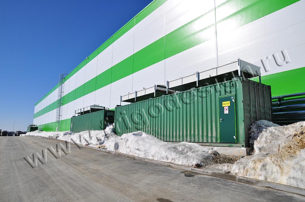 Холодильные установки в контейнере от Фригодизайн